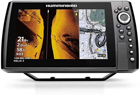 Humminbird HELIX 9 G3N - Wide area coverage