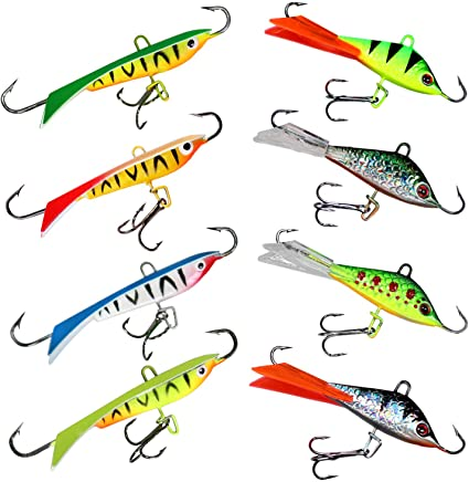 THKFISH Ice Fishing Jigs
