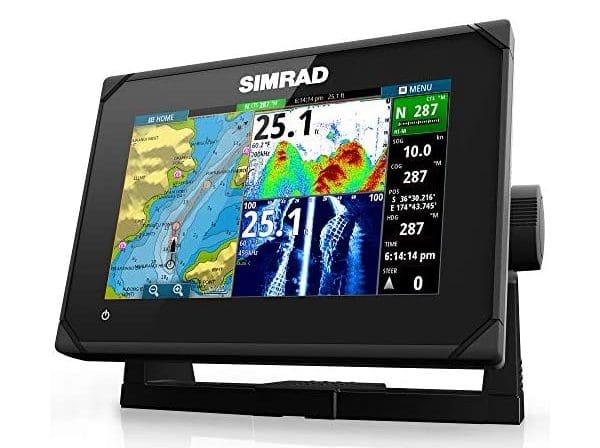 Simrad GO7 XSE Chartplotter TotalScan Transom Mount Transducer