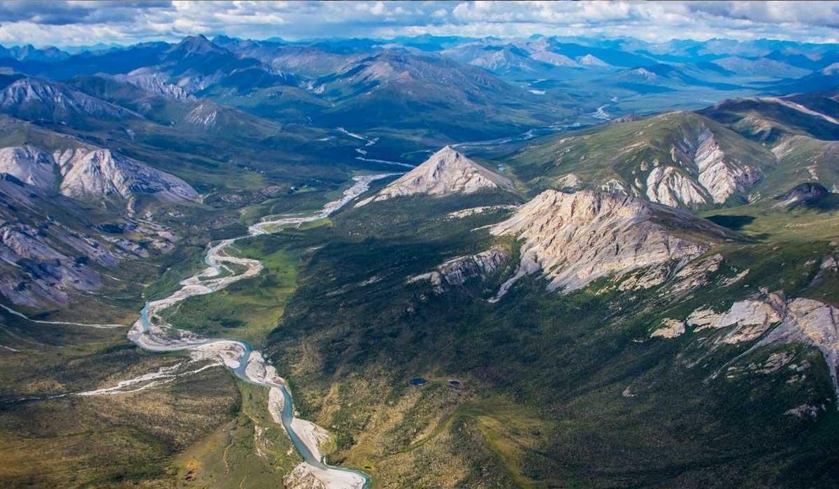 The brooks range Alaska